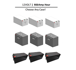 12 Volt 900 Amp Hour LIFEP04 Lithium Battery | 12V 900Ah Total | 3 x 300Ah | 450A Discharge